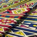 African curtains material